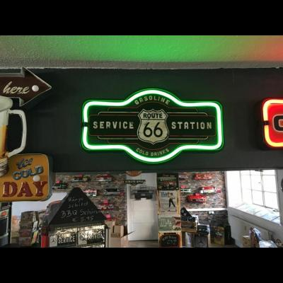 Route 66 Service Station LED